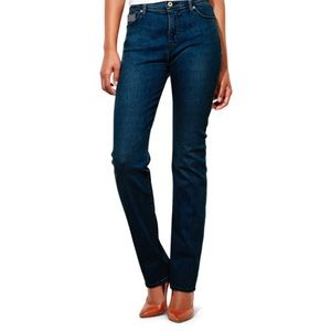 Levi's Perfectly Slimming Straight Legs Dark Wash
